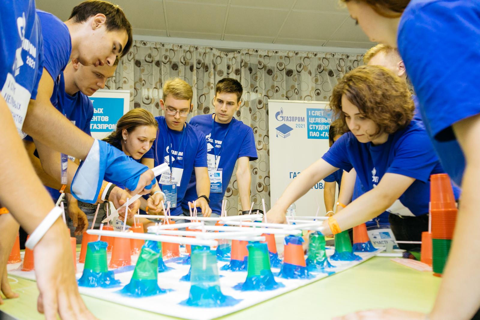 Студенты ВШТМ приняли участие в I Слете целевых студентов «Газпрома»