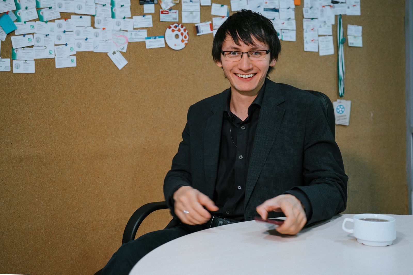 """Sergey Le-Zakharov: """"Music and mathematics are different tools for describing the same entities"""""""