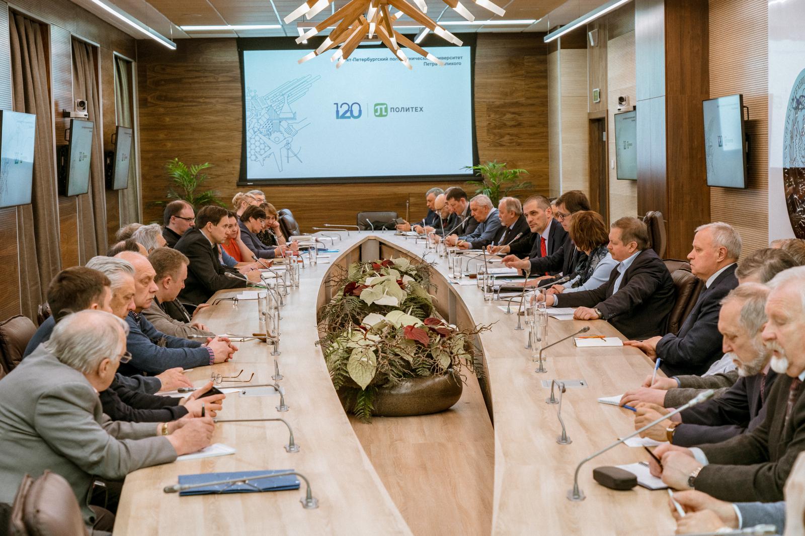 Состоялось заседание президиума Научно-аттестационной комиссии СПбПУ