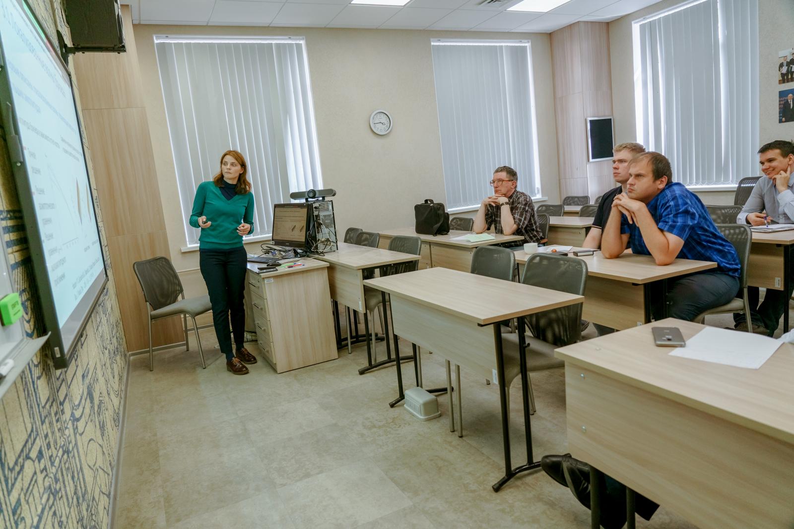 В ВШТМ прошел научный семинар