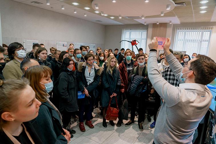 Экскурсии для первокурсников в честь дня рождения ВШТМ
